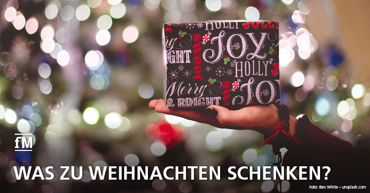 Was zu Weihnachten schenken? Diese Geschenketipps sind ideal für Fitnessfans.