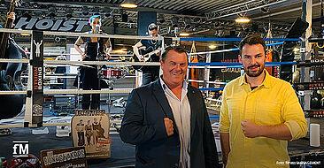 Starkes Geschäftsführer-Doppel: Roland Bebak (HOIST Fitness Germany, links) und Janosch Marx (fitness MANAGEMENT).