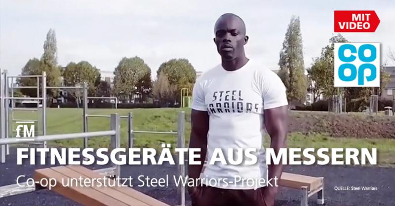 Co-op unterstützt Steel Warriors-Projekt