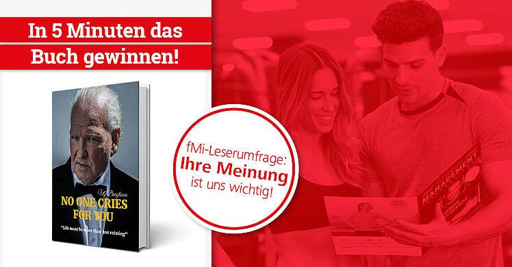 Tausche Feedback gegen Buch: fMi-Leserumfrage ausfüllen und in 5 Minuten die Ulf Bengtsson Biografie 'No one cries for you' gewinnen.