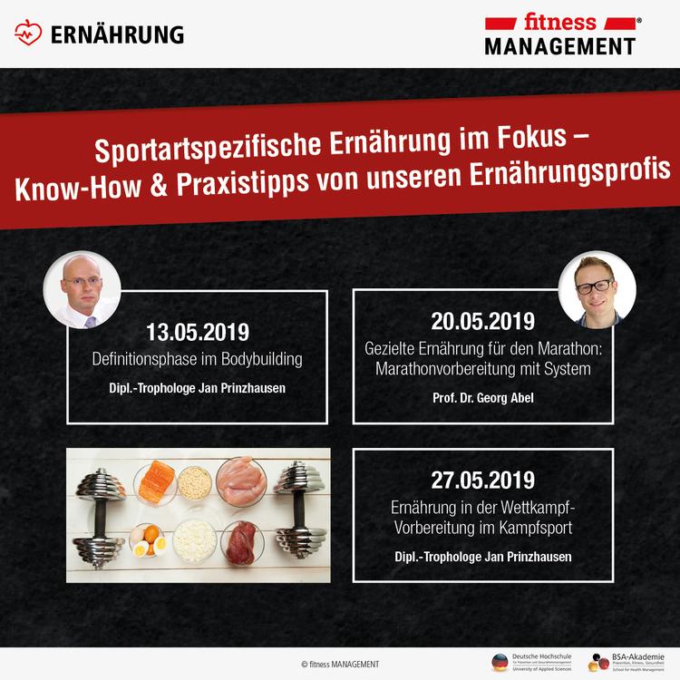 Unsere Ernährungsexperten: Dipl.-Trophologe Jan Prinzhausen und Prof. Dr. Georg Abel.