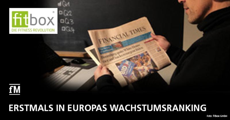 EMS Franchiseunternehmen fitbox erstmals in FT 1.000 Unternehmen Europas platziert