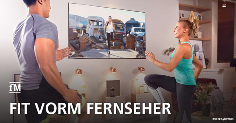 Cyberobics und Magenta TV bieten Fitnessprogramme fürs Wohnzimmer an.