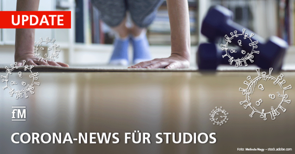 Aktuelle Corona-News für Fitnessstudios auch im Jahr 2021