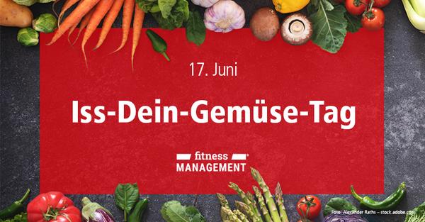 Ernährungstrends, Saisonkalender und regionale Produkte: Spargel, Kohlrabi, Mangold, Karotten oder Zucchini gefällig? Iss-Dein-Gemüse-Tag, National Eat Your Vegetables Day am 17. Juni