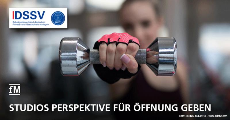 Arbeitgeberverband DSSV fordert Politik auf, Fitnessstudios Öffnungs-Perspektive zu geben