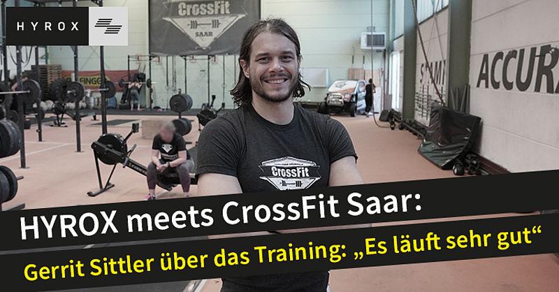 Gerrit Sittler und das CrossFitSaar Team treten am 30. März bei HYROX in Karlsruhe an
