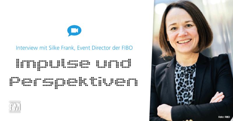 Silke Franke erläutert die Impulse und die Perspektiven der digitalen FIBO