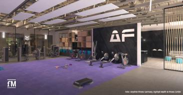 Blicks ins Studio: Anytime Fitness eröffnet im April 2020 in Gütersloh seinen ersten Club in Deutschland