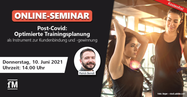 DSSV Webinar Post-COVID: Optimierte Trainingsplanung