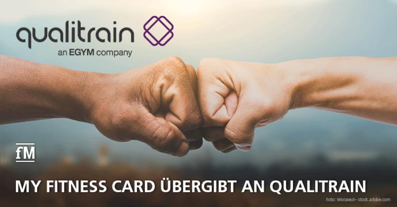 My Fitness Card übergibt Kunden an qualitrain