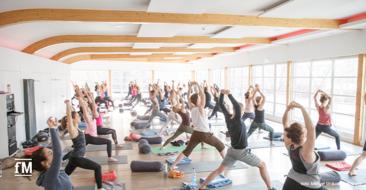 Yoga, Ballett, Pilates, BBP und Co.: Sportprogramm, Workshops und Vorträge zu Nachhaltigkeit, Umweltschutz und Bewegung: MOVE FOR FUTURE DAY in der Hamburger KAIFU-LODGE