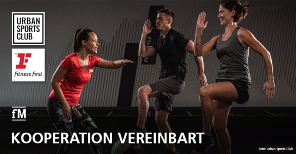 Urban Sports Club vereinbart Kooperation mit Fitness First