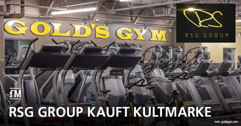 RSG Group kauft US-Kultmarke Gold's Gym