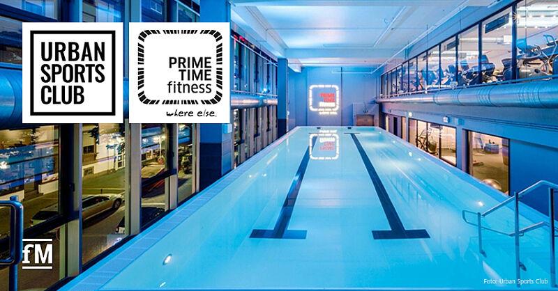 Urban Sports Club und PRIME TIME fitness geben Kooperation bekannt.