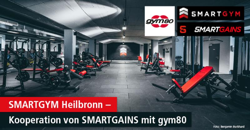 Benjamin Burkhard, Influencer und Geschäftsführer von @smartgains, hat zusammen mit dem Fitnesskonzern gym80 das SMARTGYM Heilbronn eröffnet