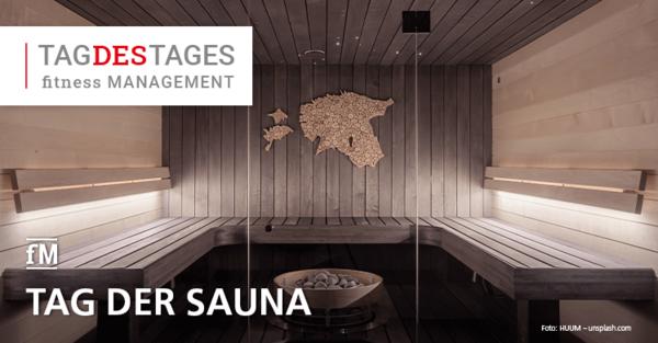 Der Tag der Sauna ist eine Gemeinschaftsaktion des Deutschen Sauna-Bundes und seiner Mitgliedsbetriebe.