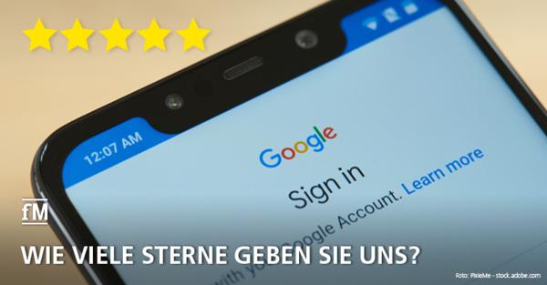 Google Rezension für fitness MANAGEMENT: Jetzt Sterne vergeben und Feedback geben!