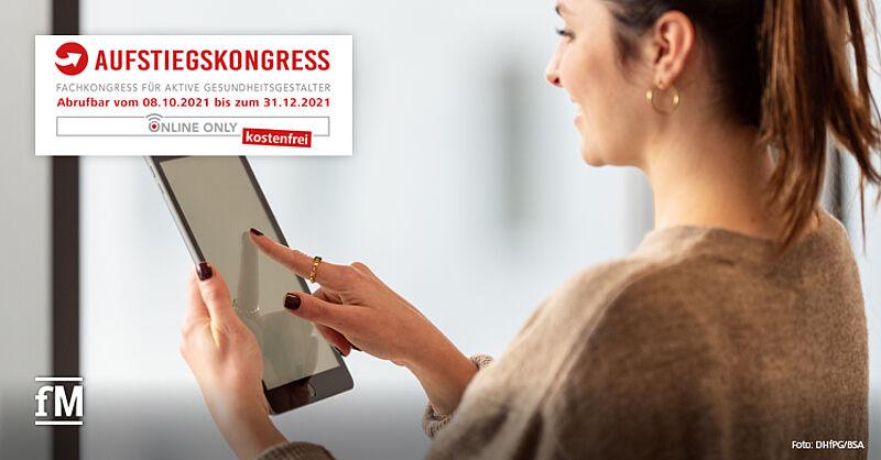 Kostenfrei im Netz: Aufstiegskongress 2021 coronabedingt erneut als reine Online-Veranstaltung