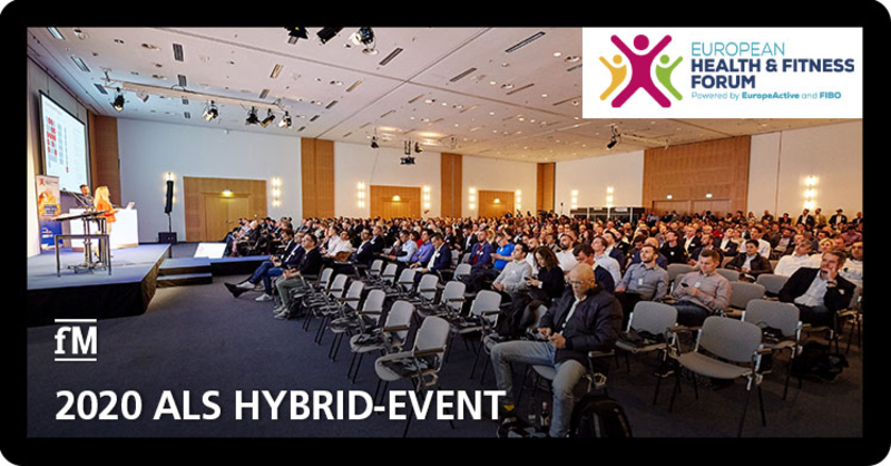 European Health & Fitness Forum 2020 coronabedingt als Hybrid-Event
