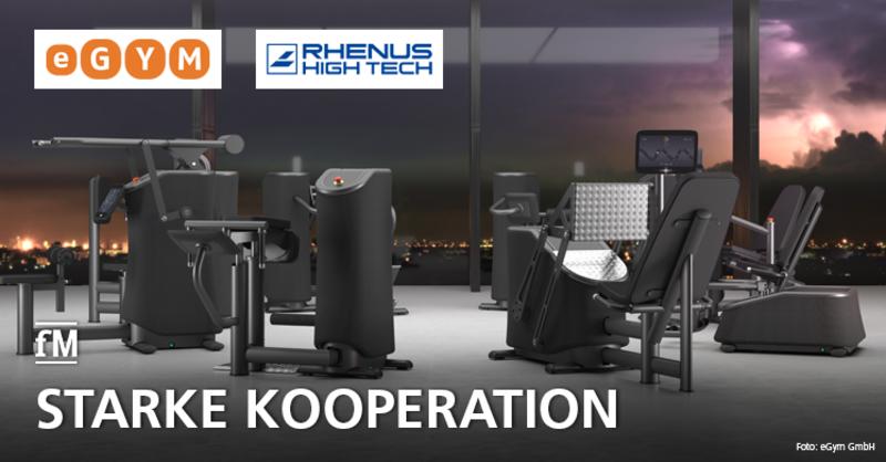 eGym und Rhenus Sports Tech GmbH bauen Kooperation aus