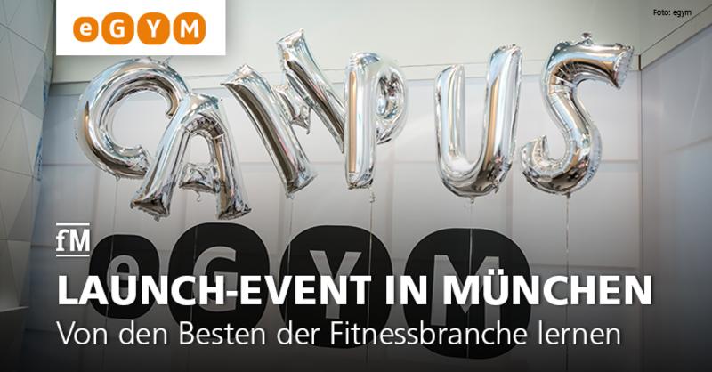 Von den besten der Fitnessbranche lernen: neben den beiden MarkenbotschafternRalf Moeller undMario Görlach war auch Albert Busek unter den Gästen der Auftaktveranstaltung in der Münchner eGym Zentrale.