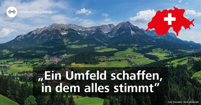Fitness international: Das FRITZ BEWEGT MICH im schweizerischen Illnau