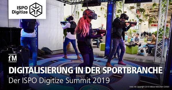 Digitalisierung im Fokus der Sport- und Fitnessbranche: Der ISPO Digitize Summit in München.