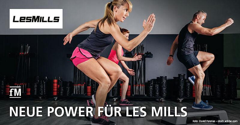 Neue Power für Les Mills: ACC steigt bei den Groupfitness-Experten ein