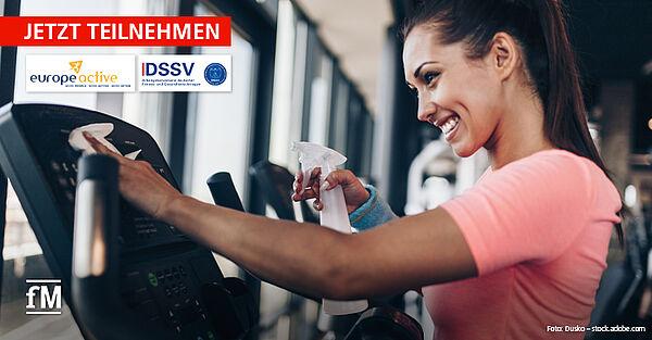 Corona in Fitnessstudios: Unterstützen Sie EuropeAcitve bei der zweiten SafeActive Studie.
