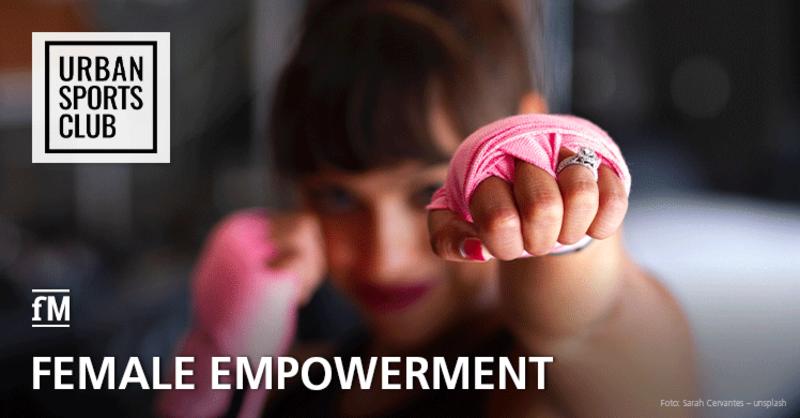 Zum Weltfrauentag fordert der Urban Sports Club mehr Chancengleichheit