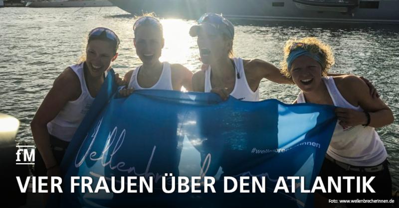 Talisker Whisky Atlantic Challenge 2019: Vier Hamburgerinnen gewinnen als schnellstes Frauenteam
