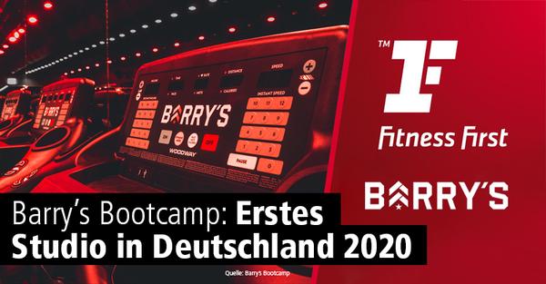 Barry's Bootcamp: Erstes Studio in Deutschland soll 2020 eröffnen.