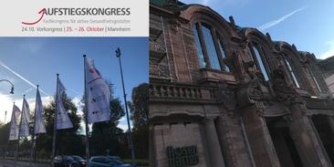 Veranstaltungsort des Aufstiegskongress 2019: Das m:con Congress Center Rosengarten in Mannheim.