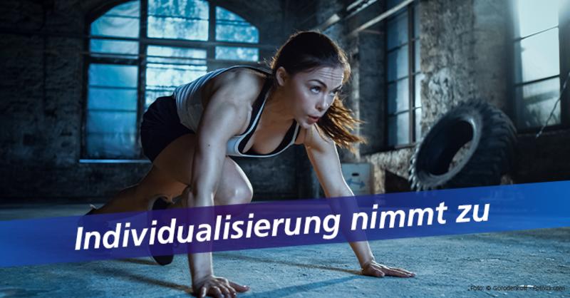 Kennzahlen aus der deutschen Sportwirtschaft: Deutsche trainieren am liebsten selbstorganisiert.