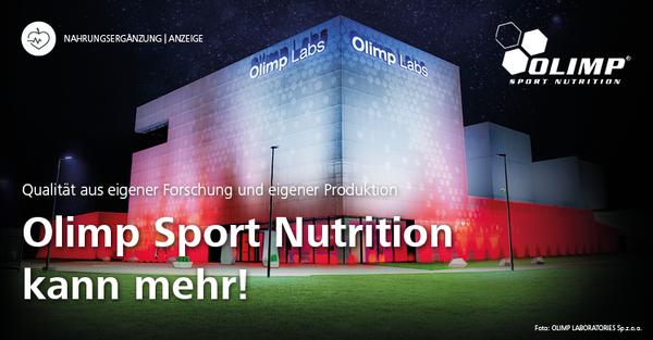 Olimp Sport Nutrition: Neue Struktur der Präsenz im Fitness- und Gesundheitsmarkt der DACH-Region
