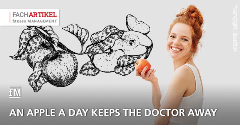 Fittes Immunsystem: Genügt ein Apfel täglich tatsächlich, um den Doktor fernzuhalten?