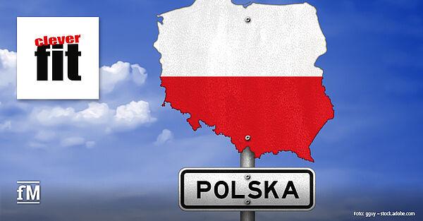 Fitness-Franchise clever fit expandiert nach Polen.