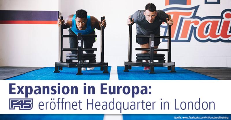 Functional Training ist einer DER Fitnesstrendsund das australischeUnternehmenF45und dessen Franchise-Konzepterfreuen sich international wachsender Beliebtheit.