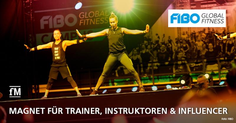 FIBO als Magnet für Trainer, Instruktoren und Influencer