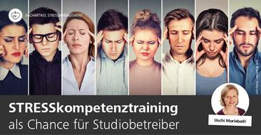 Stresskompetenztraining für Studiobetreiber