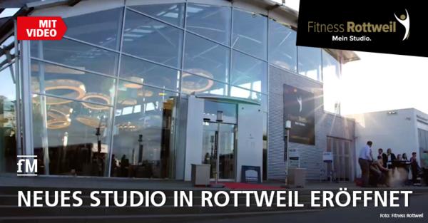 Das Eröffnungswochenende des 'Fitness Rottweil' mit VIP-PreOpening-Party – inklusive Video