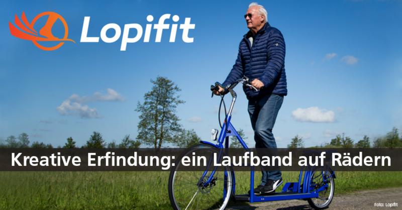 Lopifit aus den Niederlanden ist weder Tretroller noch Laufrad.