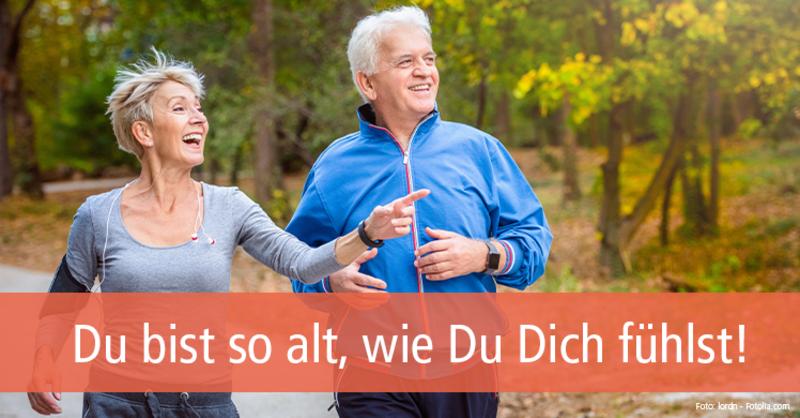 Bestimmen Sie Ihr biologisches Alter und werden Sie fitter und gesünder.