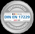 DIN EN 17229 Zertifikat für Fitnessstudios