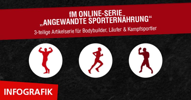 Bodybuilding, Marathonlauf und Kraftsport: So essen Sie garantiert das Richtige.