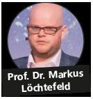 Prof. Dr. Markus Löchtefeld, Professor für Wearable Computing
