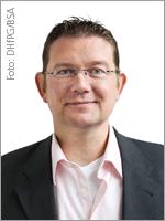 Lars Kröger, Leiter der Zertifizierungsstelle BSA-Zert, einem Schwesterunternehmen der BSA-Akademie