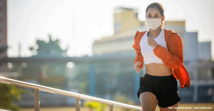 COVID-19: Mildere Krankheitsveräufe durch körperliche Fitness?