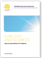 Weißbuch der ESA 'Sunlight and Sunbeds'